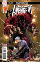 Uncanny Avengers #29 - (Stars and Garters)